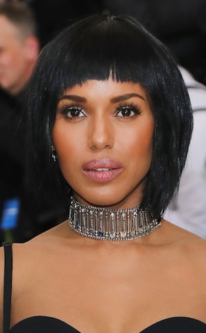 ESC: 2017 Met Gala, Beauty, Kerry Washington